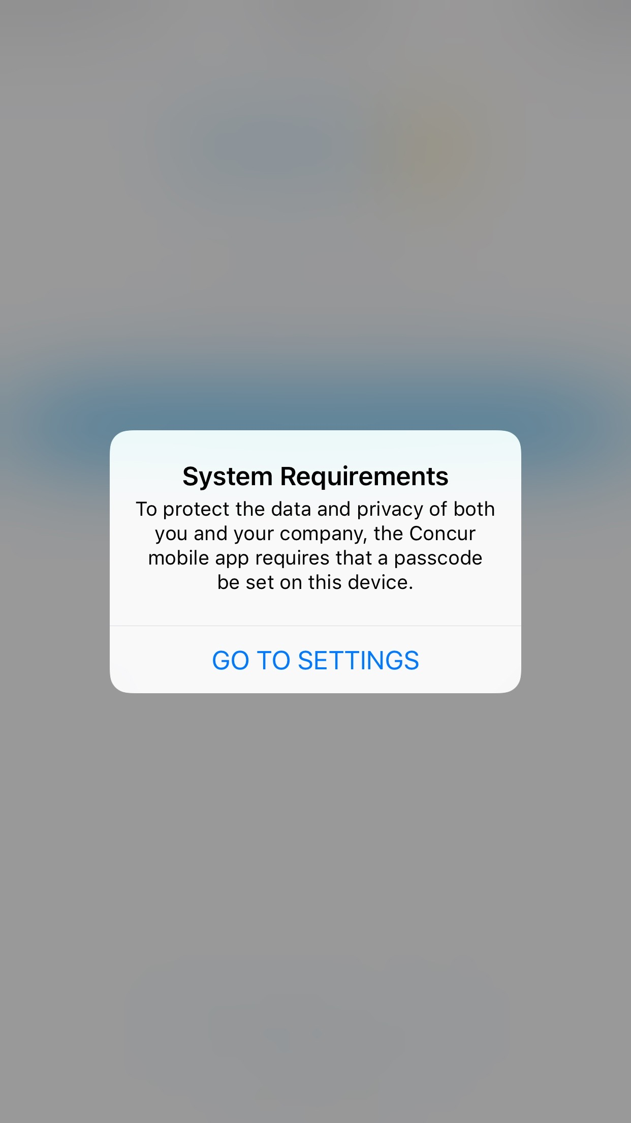 Solved: Cannot login to Concur Mobile App - SAP Business